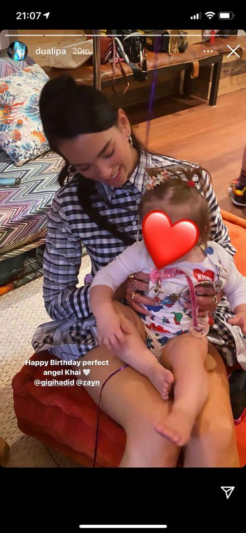 bella and dua's khai birthday posts