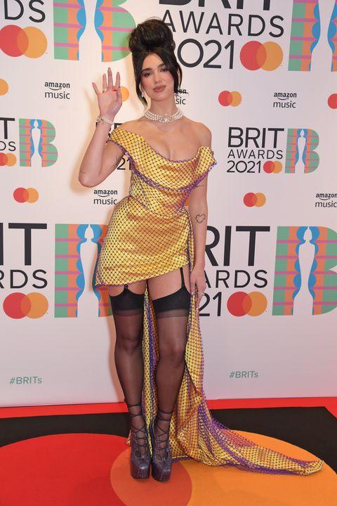 the brit awards 2021 vip arrivals