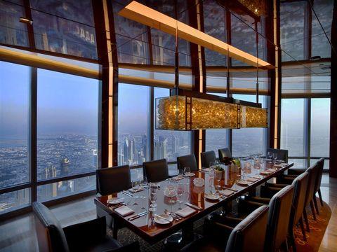 El restaurante más alto del mundo