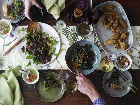 Food, Cuisine, Dishware, Tableware, Serveware, Meal, Dish, Table, Ingredient, Plate,