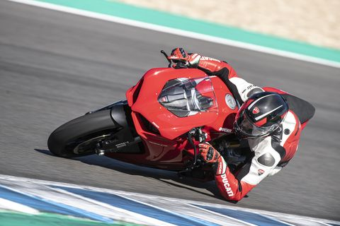 the ducati panigale v2 is just about the most beautiful bike in the world