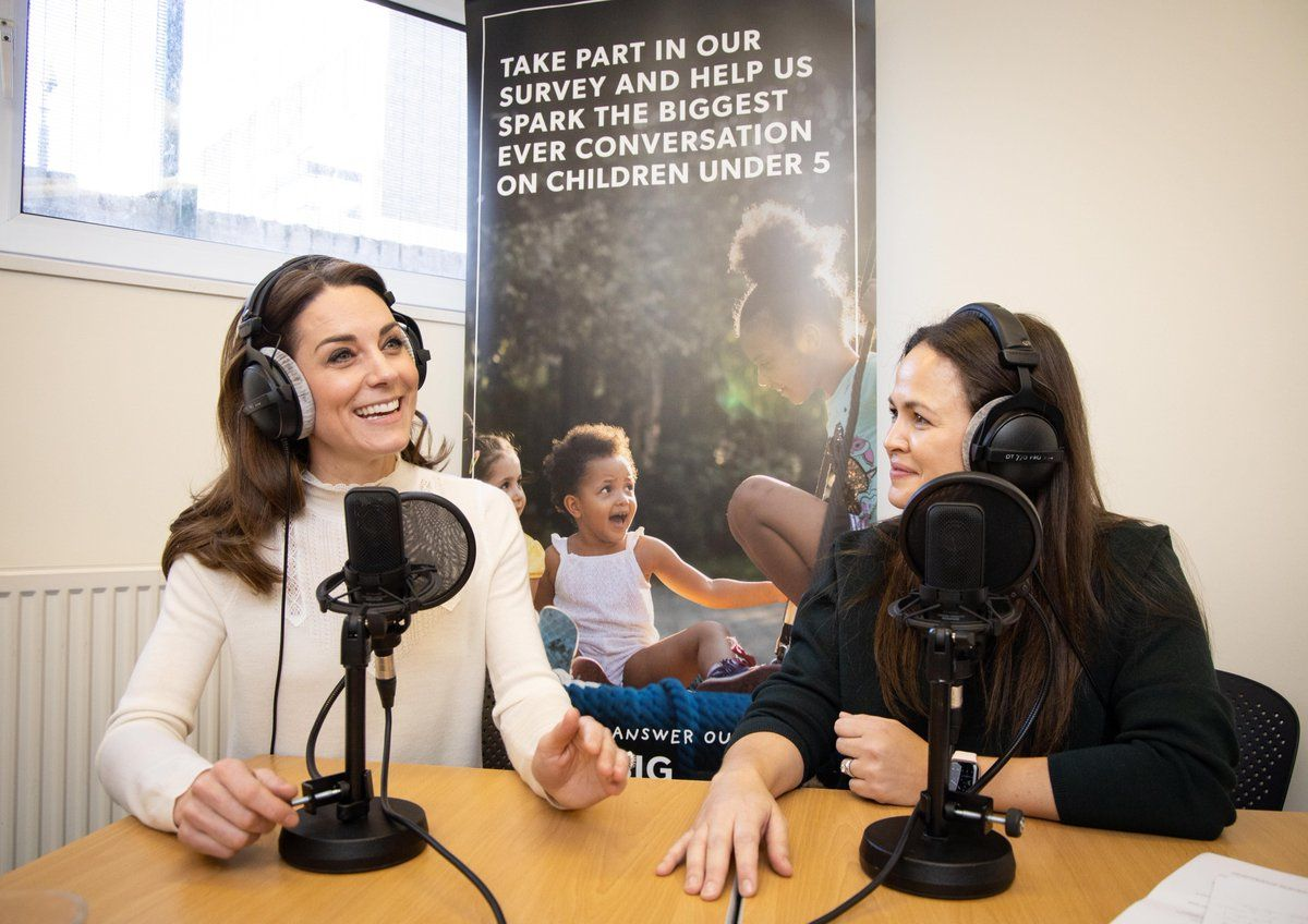 "The Duchess of Cambridge credits ""amazing granny"" as parenting inspiration in first ever podcast"