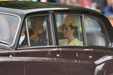 Duke and Duchess of Cambridge at Trooping the Colour 2019