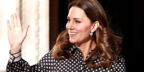 Kate Middleton duchess catherine waves