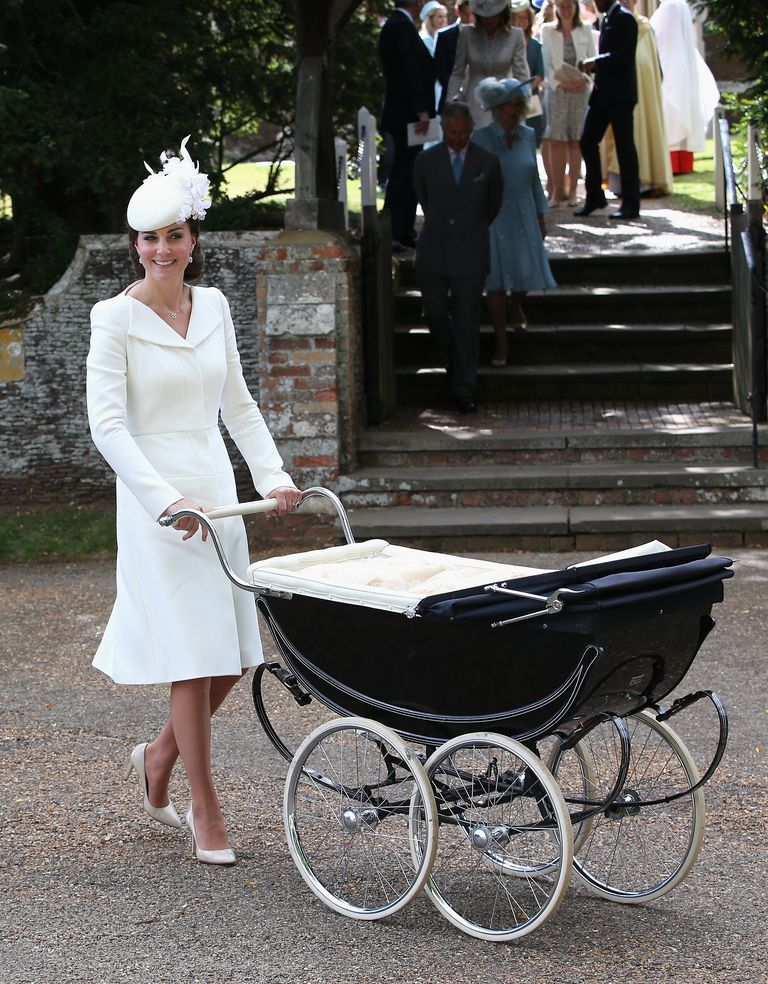 Duchess of Cambridge at the royal christenings