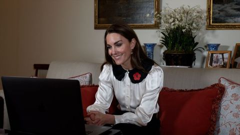 the duchess of cambridge remembrance week