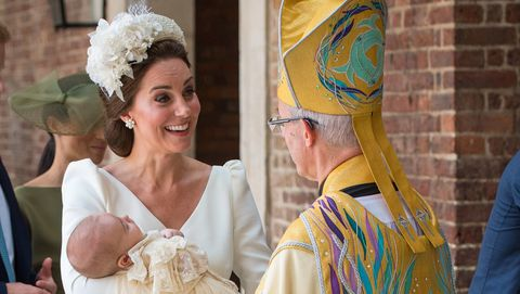 Duchess of Cambridge and Prince Louis