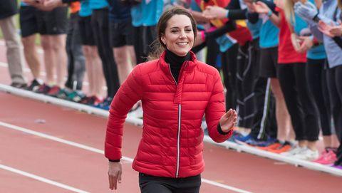 Duchess of Cambridge running