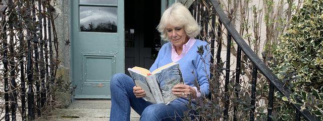 Camilla reading