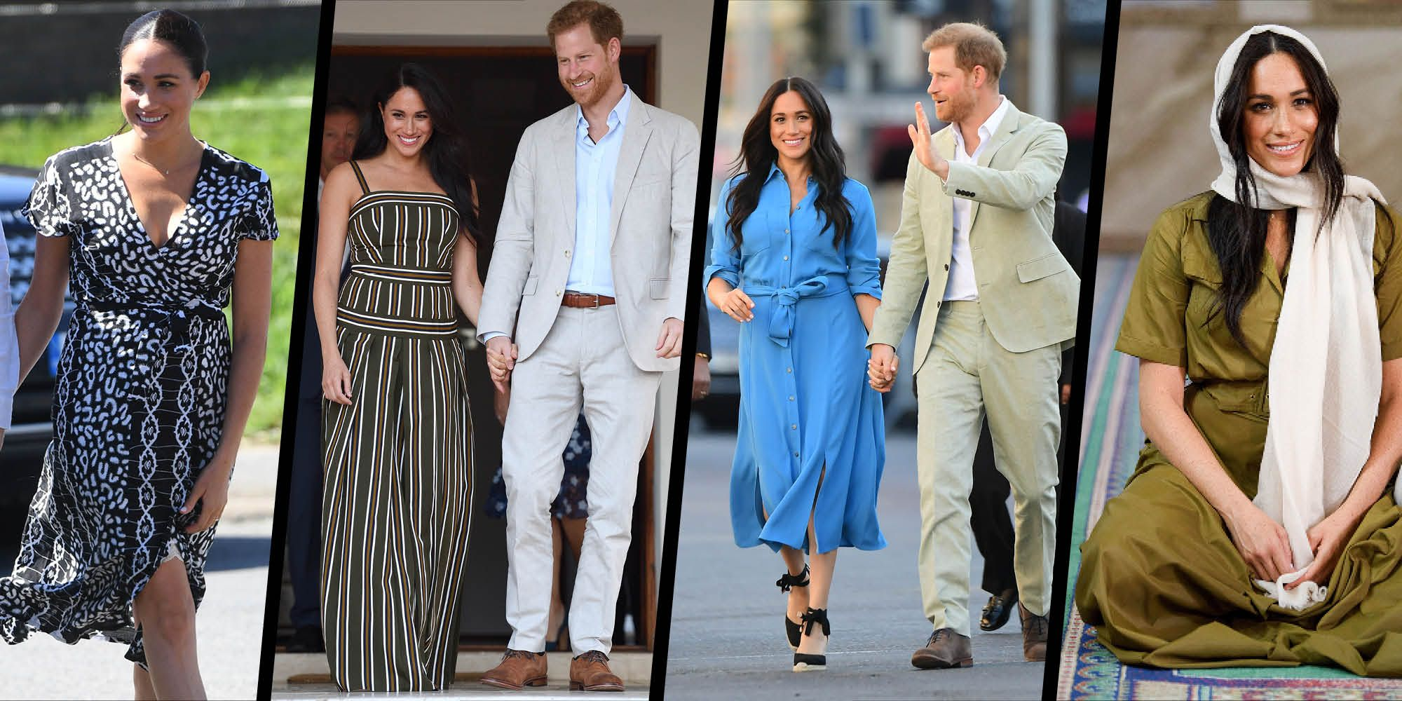 Decoding The Duchess Of Sussex S South Africa Wardrobe