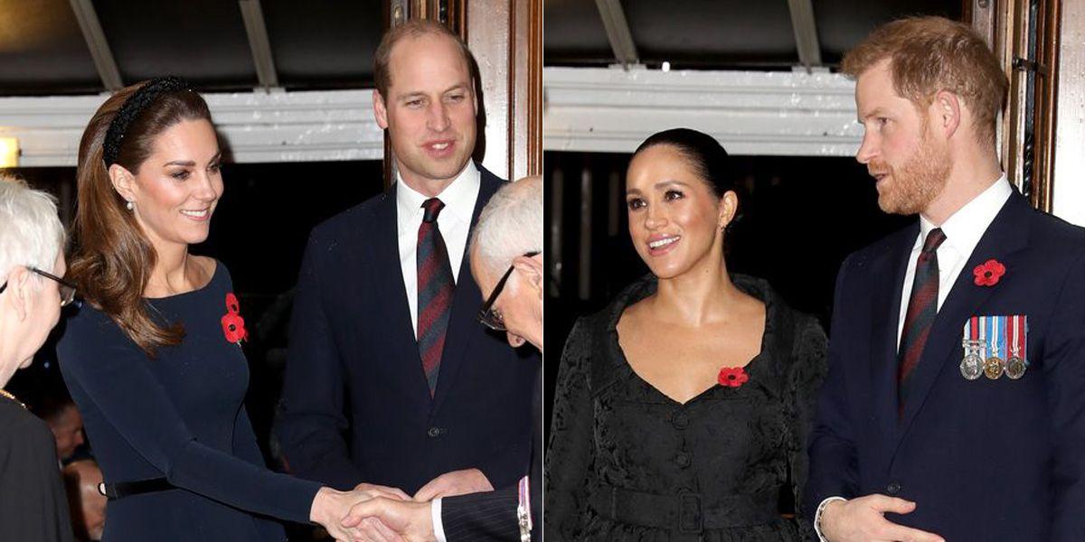 ウィリアム王子&キャサリン妃、ヘンリー王子&メーガン妃が5