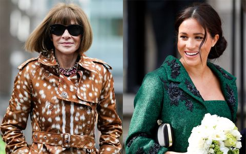 The Duchess of Sussex and Anna Wintour