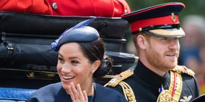 Duchess of Sussex at Trooping the Colour 2019