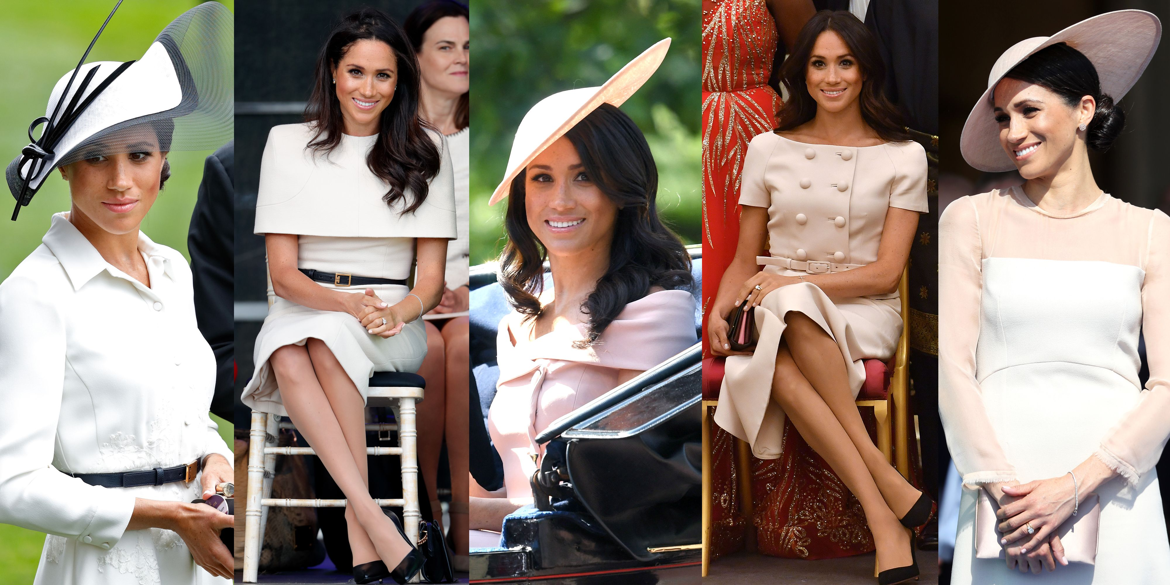 The Very British Reason Meghan Markle Keeps Wearing Blush and Beige