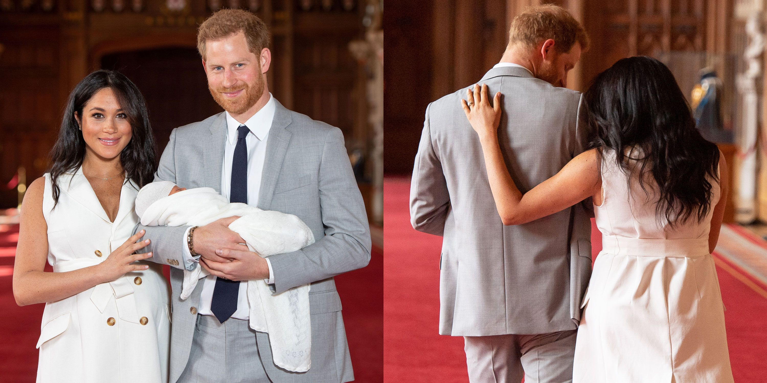 A Body Language Expert on Meghan and Harry's Royal Baby Photo-Call