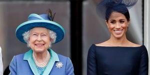 Queen Elizabeth II, Duchess of Sussex