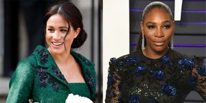 The Duchess of Sussex and Serena Williams