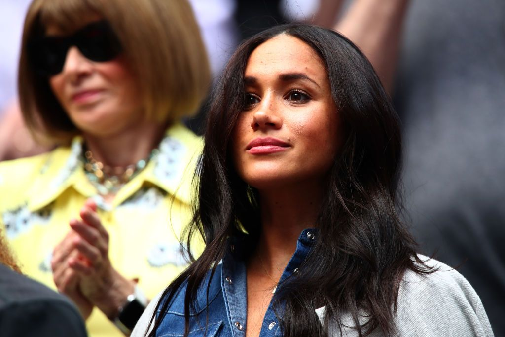 The Duchess of Sussex surprised a yoga class while in New York