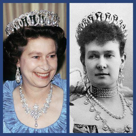 Queen Elizabeth, Duchess Vladimir, tiara