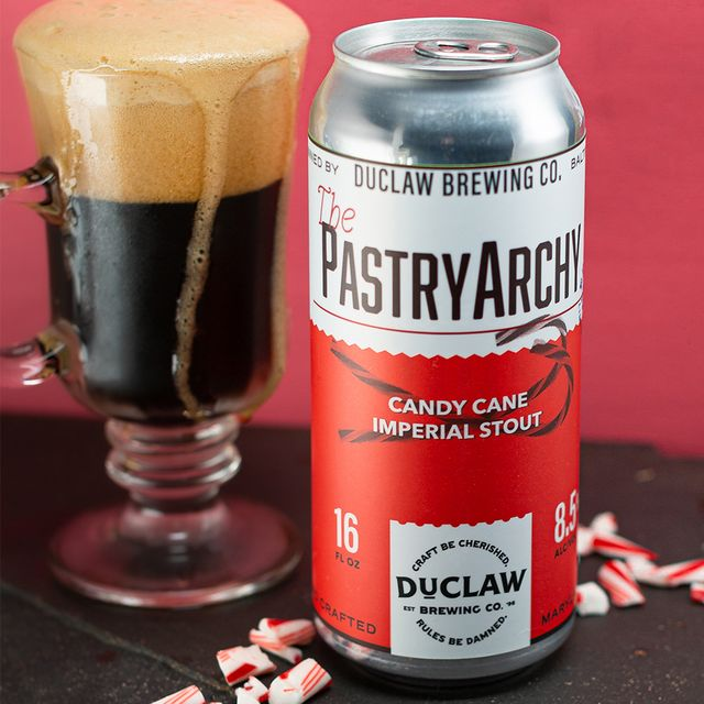 duclaw brewing company pastryarchy candy cane imperial irish stout beer