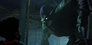 duende verde spider-man into spider-verse un nuevo universo green goblin