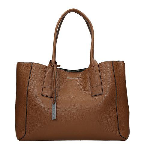 Handbag, Bag, Leather, Brown, Fashion accessory, Product, Tan, Beauty, Shoulder bag, Font,