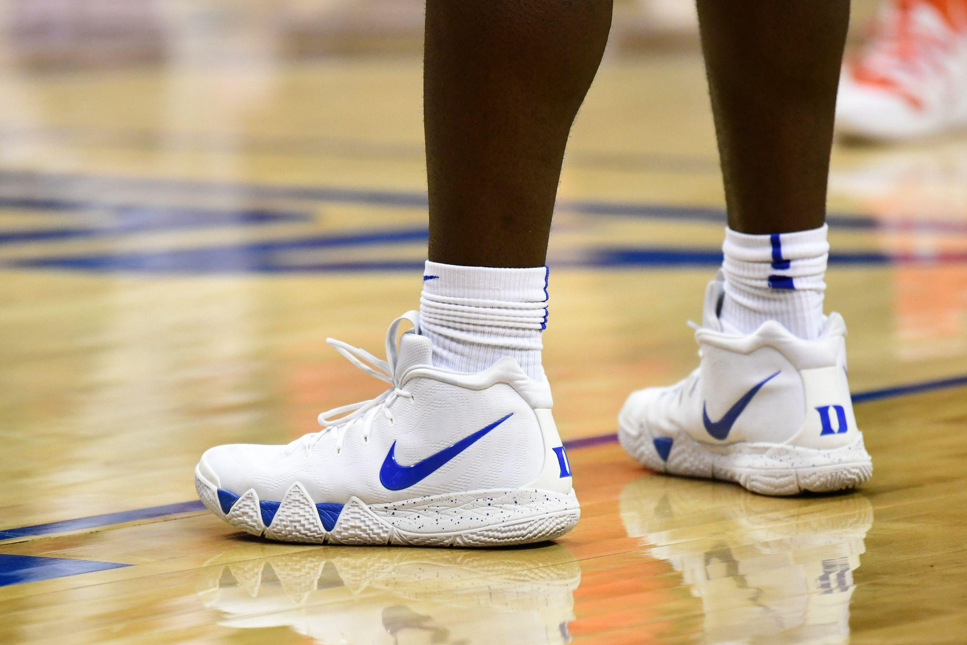 Zion Williamson Wore Nike Kryrie 4