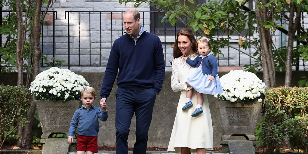 Duke and Duchess of Cambridge's family