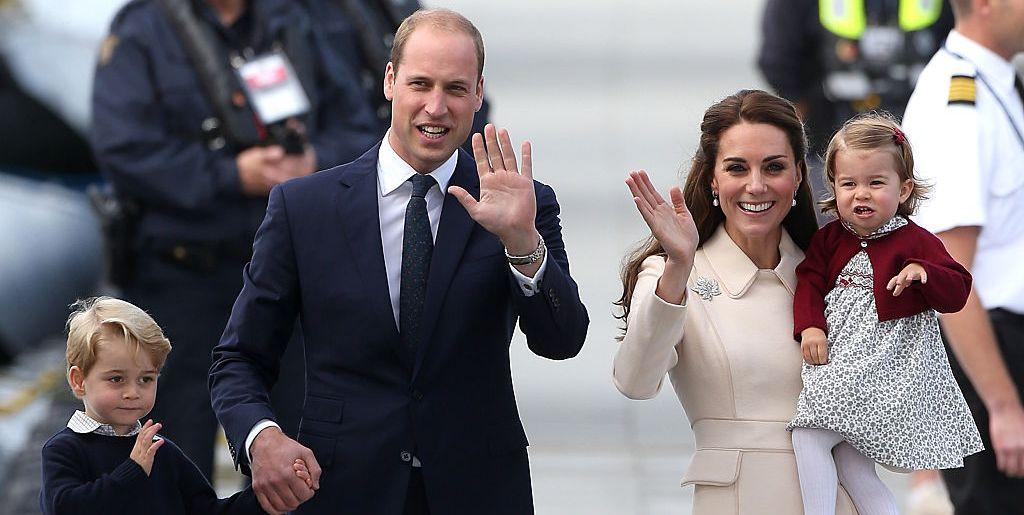 Duke and Duchess of Cambridge's family