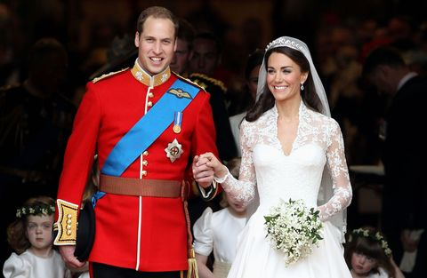 Duke and Duchess of Cambridge's wedding