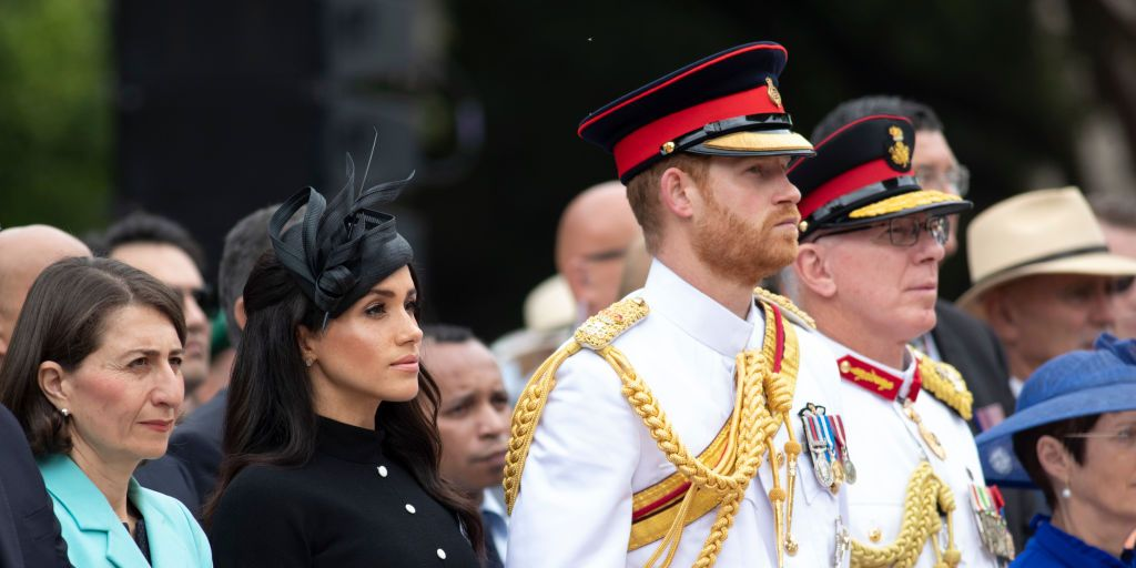 Duke and Duchess of Sussex opened the Anzac memorial in Sydney