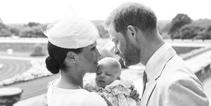 Duke and Duchess of Sussex christen Archie