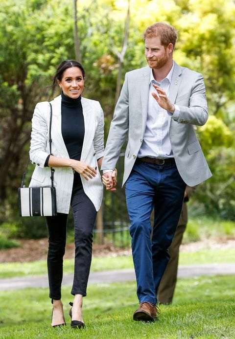 Duke and Duchess of Sussex at Sydney's Olympic Park
