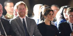 Duke and Duchess of Sussex at Invictus Games opening ceremony