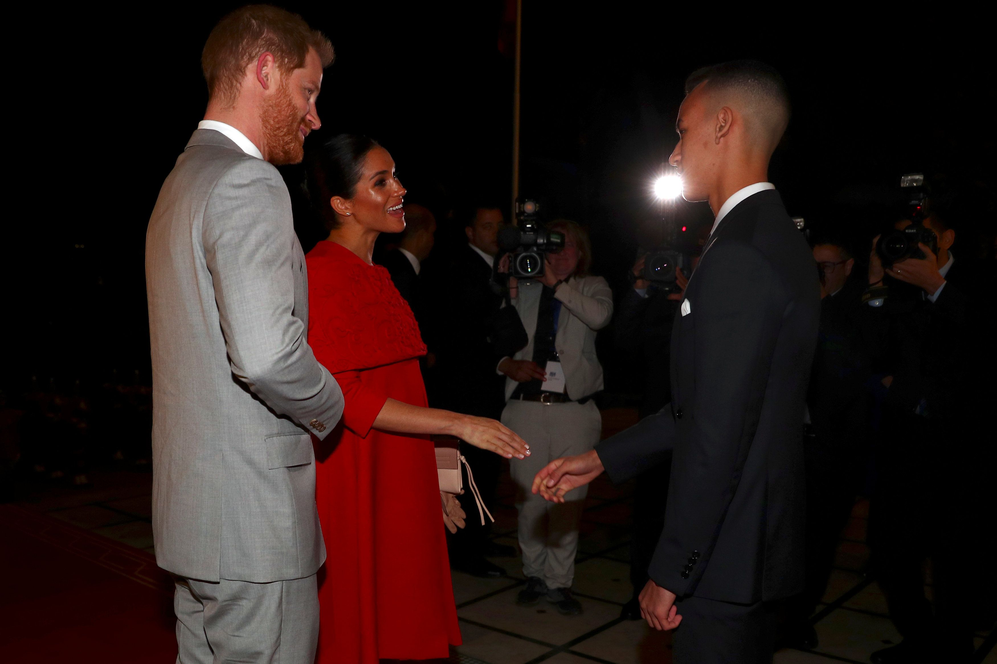 The Duke and Duchess of Sussex visit Morocco