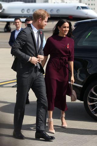 The Duchess of Sussex's maternity leave officially ends next
