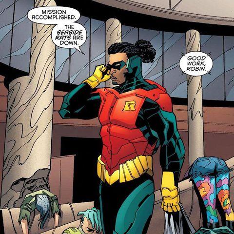 duke thomas, robin, dc comics