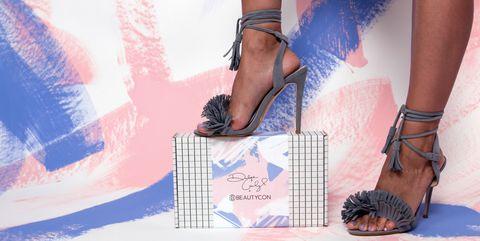 Footwear, Leg, Human leg, Shoe, Joint, Sandal, Foot, Fashion accessory, Fashion, High heels,