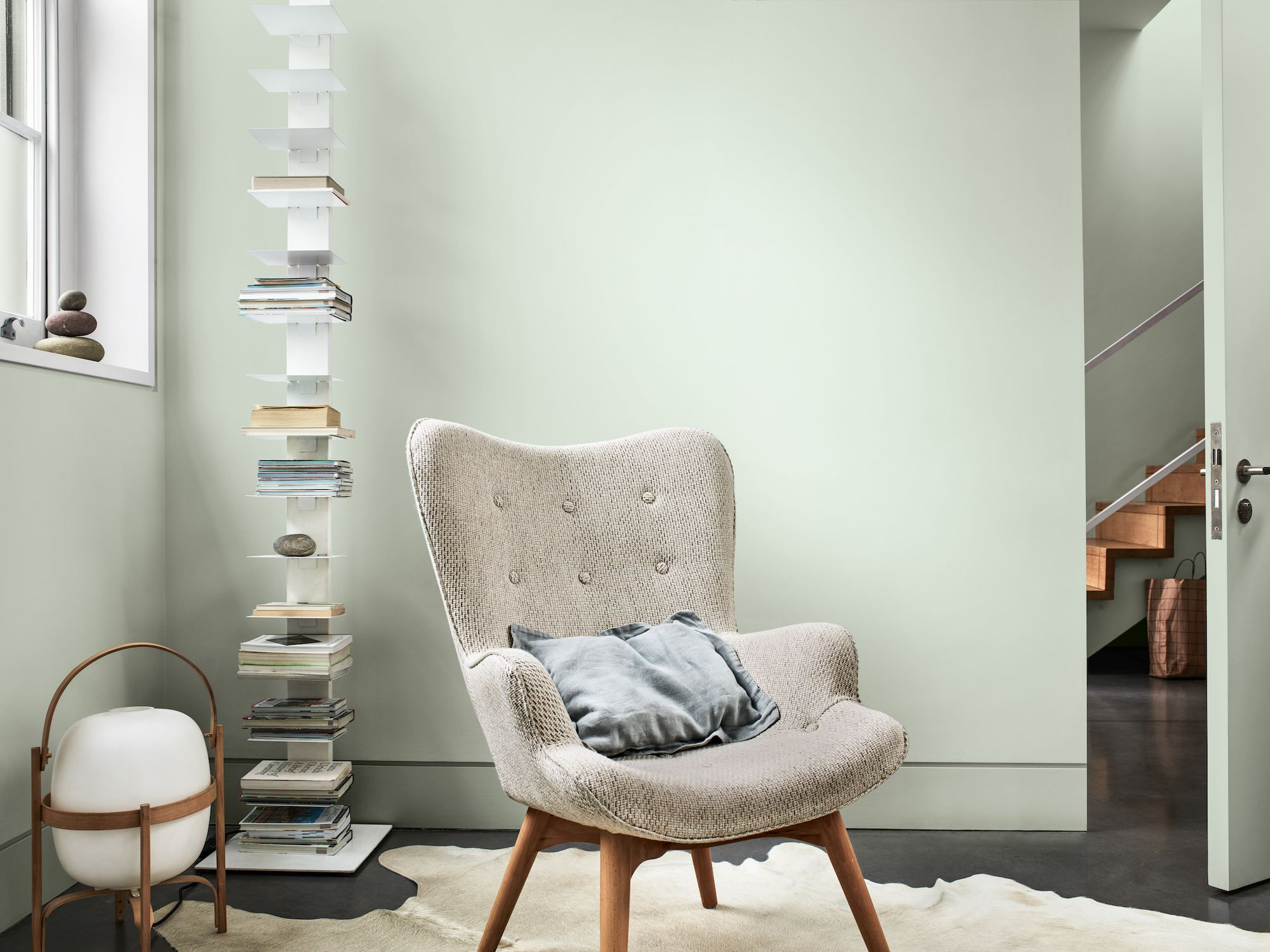 Dulux has named Tranquil Dawn as its Colour of the Year for 2020