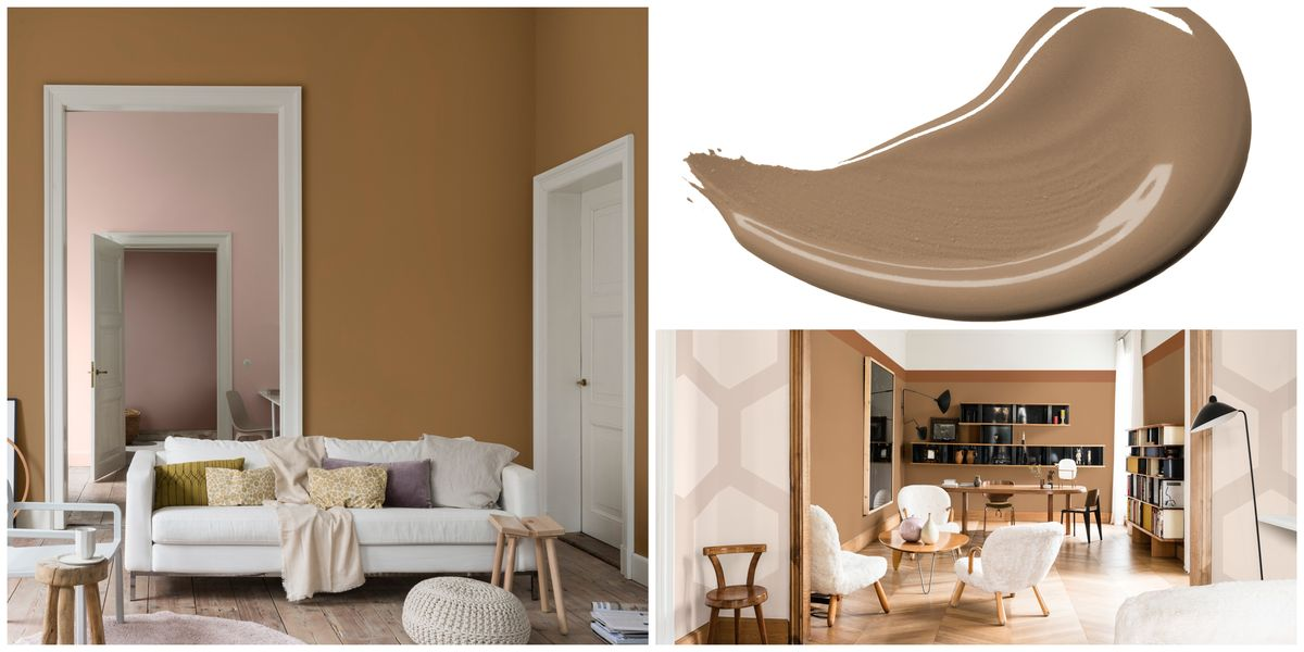 Dulux S Colour Of The Year 2019 Is Spiced Honey Colour