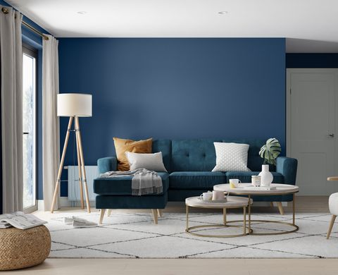 dulux feature wall trends
