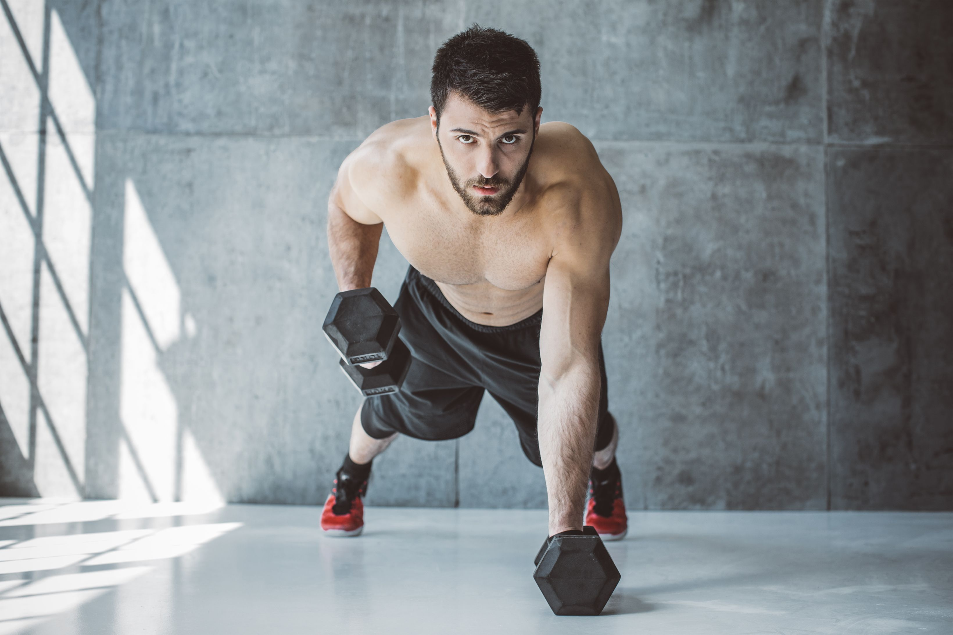 This 30-Minute Dumbbell Workout Will Get You Shredded for Beach Season