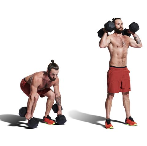Weight, exercise equipment, kettlebell, dumbbell, arm, shoulder, standing, muscle, sports equipment, physical fitness,