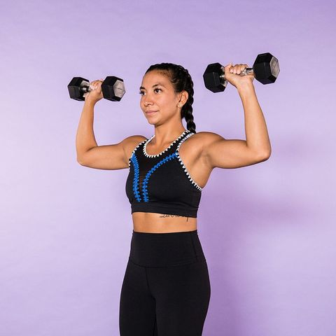 15-Minute Dumbbell Arm Workout - 14 Arm Exercises With Weights