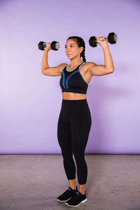 No Gym Required: 10 Dumbbell Exercises to Tone Up Arms at Home