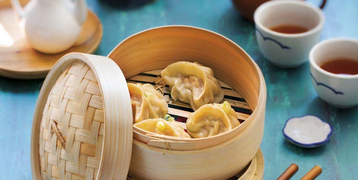 Dumplings rellenos de carne