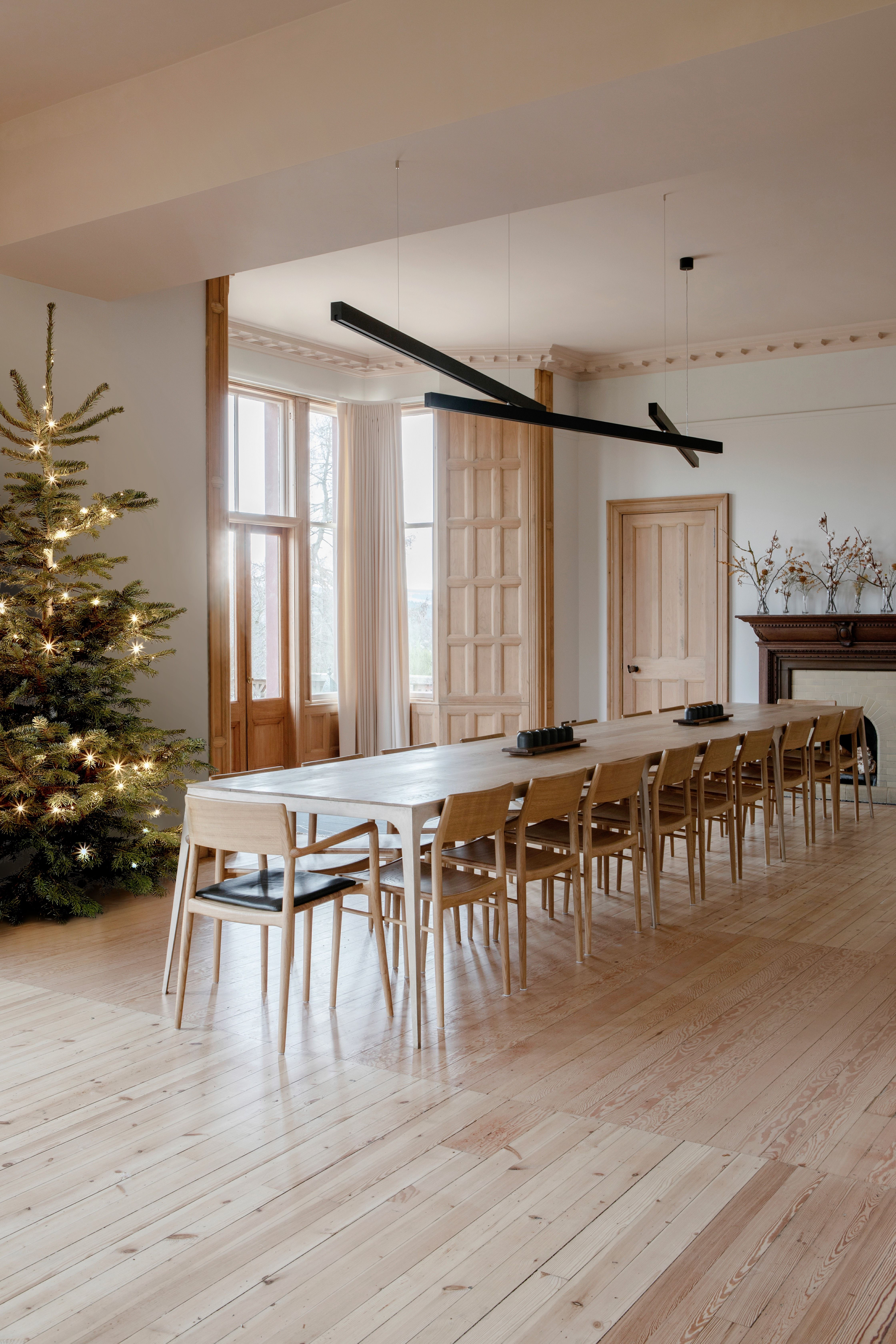 This renovated Scottish pile is the perfect home for the festive season