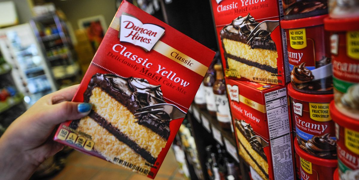 Duncan Hines Recalling Four Cake Mixes Because Of Salmonella Fears