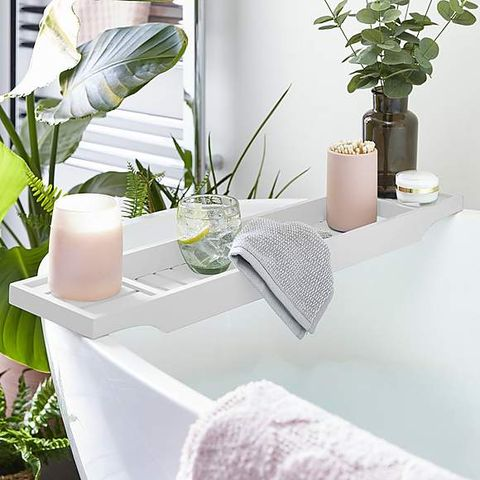 The Insta-famous £10 Dunelm bath rack is back in stock