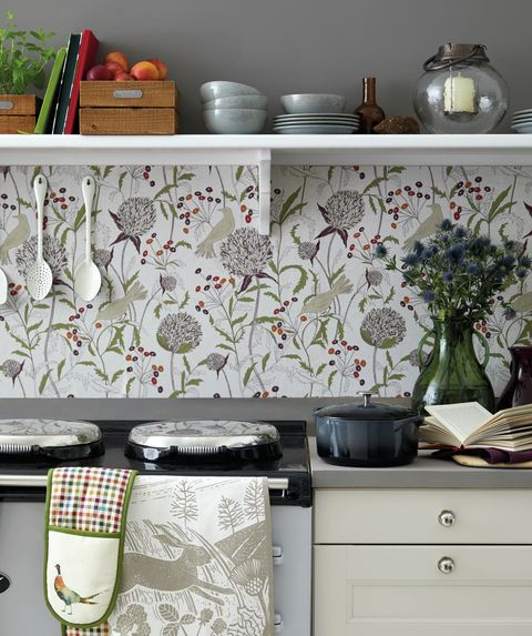 Benefits Of Using Wallpaper In The Kitchen